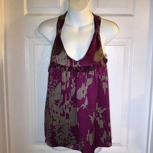 Rory Beca 100% Silk Tank Top Size Medium